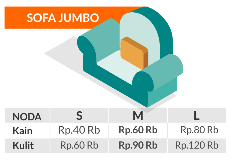 2 harga cuci sofa jumbo bandung cimahi murah