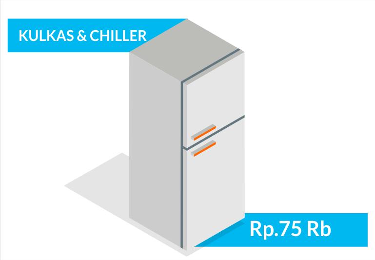 Jasa service elektronik kulkas chiller freezer bandung sapubersih